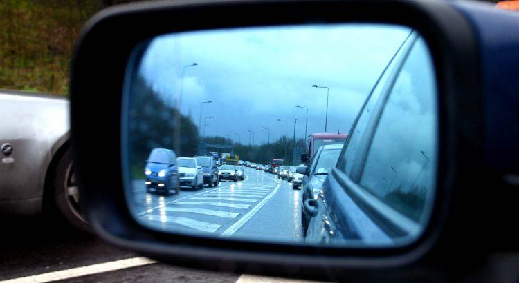 atpakaļskata spogulis